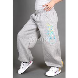 Spodnie dziecięce, dresowe, sportowe, do tańca CRAZY KIDS 2skin