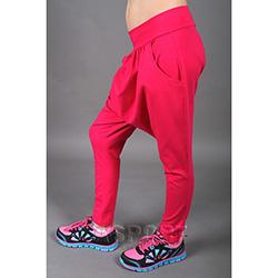 Spodnie dziecięce, do tańca, alladynki MADOX PINK różowe 2skin
