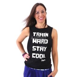 Koszulka damska, top, taniec, fitness STAY COOL 2skin