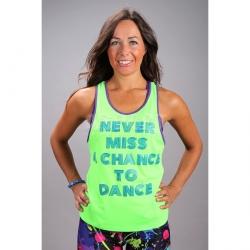 Koszulka damska, top, taniec CHANCE TO DANCE 2skin