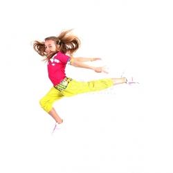 Bluzka dziewczęca, dziecięca, do tańca BOOM BASTIC 2skin