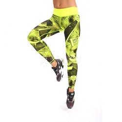 Legginsy damskie, spodnie, na fitness, do ta�ca GALACTICA 2skin