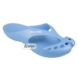 Klapki ALASKA niebieski Aqua-Speed