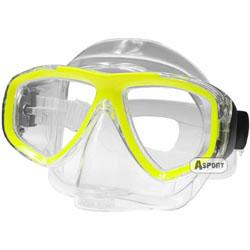 Maska optyczna ujemna korekcja ARIWA yellow Aqua-Speed