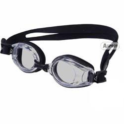 Okulary p�ywackie, korekcyjne, ujemna korekcja LUMINA black+grey
