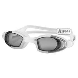 Okulary pływackie dziecięce MAREA JR biało-szare Aqua-Speed
