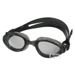 Okulary pływackie dziecięce MYSTIC JR czarne Aqua-Speed