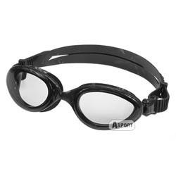 Okulary pływackie dziecięce SONIC JR czarne Aqua-Speed