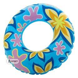 Dmuchane koło plażowe 76cm >8lat niebieskie Aqua-Speed