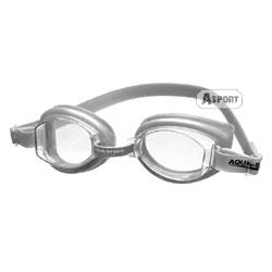 Okulary pływackie, uniwersalne ASTI srebrne Aqua-Speed