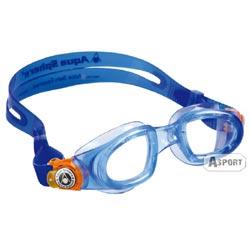 Okulary pływackie dziecięce MOBY KID błękitno-pomarańczowe Aqua Sphere