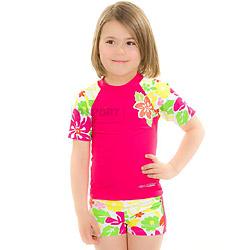 Zestaw spodenki+koszulka FLOWER Aqua-Speed