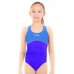 Strój kąpielowy jednoczęściowy, dziewczęcy ROSE KID Aqua-Speed