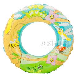 Dmuchane koło plażowe, dziecięce 56cm DESIGNER mix kolorów Aqua-Speed