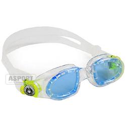 Okulary pływackie dziecięce MOBY KID niebiesko-zielone Aqua Sphere