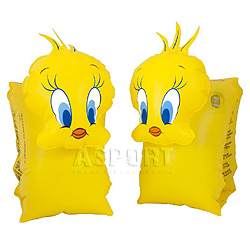 Dmuchane rękawki - motylki do pływania TWEETY 6-12lat