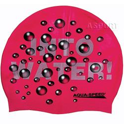Czepek pływacki WATER różowy Aqua-Speed