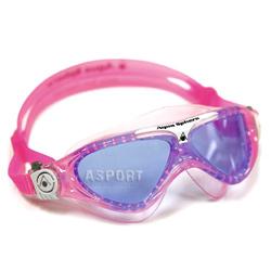 Gogle pływackie, młodzieżowe, panoramiczne, filtr UV, Anti-Fog VISTA JR