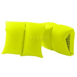 Dmuchane rękawki - motylki do pływania FLUO 3-6 lat zielone Aqua-Speed