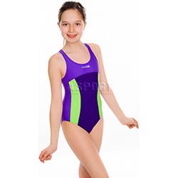 Strój kąpielowy jednoczęściowy, dziewczęcy DAISY Aqua-Speed