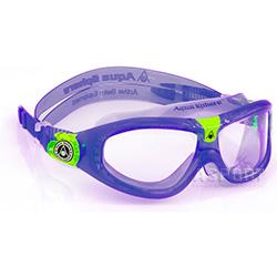 Gogle do pływania dziecięce panoramiczne SEAL KID 2 fioletowe Aqua Sphere