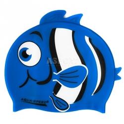 Czepek dziecięcy, silikonowy, z nadrukiem ZOO NEMO 10 Aqua-Speed