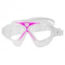 Gogle do pływania dziecięce ZEFIR transparentny-różowe Aqua-Speed