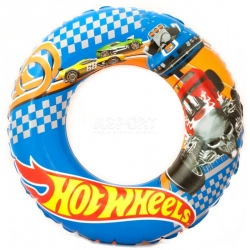 Dmuchane koło plażowe, do pływania 56 cm HOT WHEELS Aqua-Speed