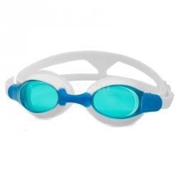 Okulary pływackie, dziecięce, filtr UV, Anti-Fog ALISO białe Aqua-Speed