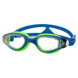 Okulary pływackie dziecięce CETO niebiesko-zielone Aqua-Speed