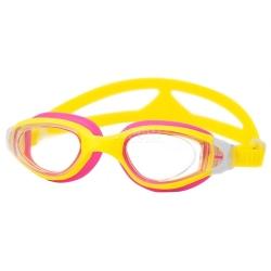 Okulary pływackie dziecięce CETO żółto-różowe Aqua-Speed