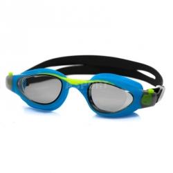 Okulary dziecięce, pływackie, filtr UV, Anti-Fog MAORI niebieskie Aqua-Speed