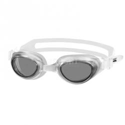 Okulary pływackie dziecięce AGILA JR biało-szare Aqua-Speed
