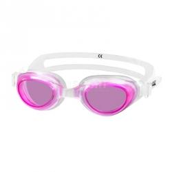 Okulary pływackie dziecięce AGILA JR biało-różowe Aqua-Speed