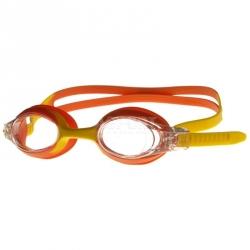 Okulary pływackie dziecięce AMARI pomarańczowo-żółte  Aqua-Speed