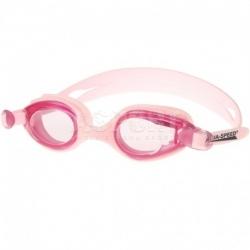 Okulary pływackie dziecięce ARIADNA jasnoróżowe Aqua-Speed