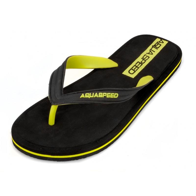 Aqua-Speed Herren STRANDSCHUHE Badeschuhe Badelatschen Flip Flops FARO