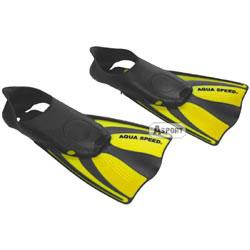 Płetwy DART żółte Aqua-Speed