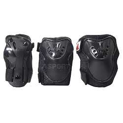 Ochraniacze dzieci�ce na nadgarstki, �okcie, kolana SK8 HERO K2