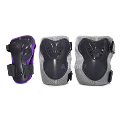 Ochraniacze dziecięce na nadgarstki, łokcie, kolana CHARM PAD SET JR K2