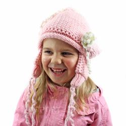 Czapka dziecięca, dziewczęca BELLS Loman