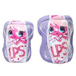 Ochraniacze na  �okcie i kolana LITTLEST PET SHOP dla dziewczynki