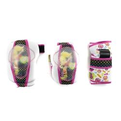 Ochraniacze na nadgarstki, �okcie, kolana, dla dziewczynki Polly Pocket