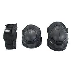 Ochraniacze na nadgarstki, �okcie, kolana H110 BLACK