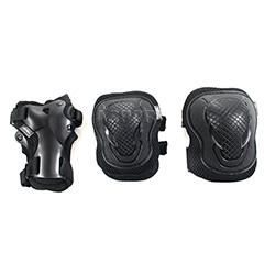 Ochraniacze na nadgarstki, �okcie, kolana H303 BLACK Signa