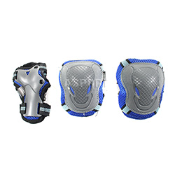 Ochraniacze na nadgarstki, �okcie, kolana H303 BLUE Signa