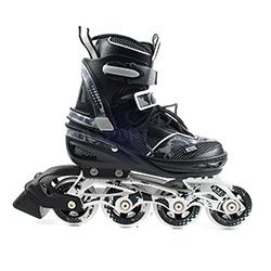 Rolki regulowane, dzieci�ce, m�odzie�owe NA 2252 A black Nils
