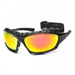 Okulary sportowe, polaryzacyjne, zimowe + pasek LHOTSE S-219B Arctica