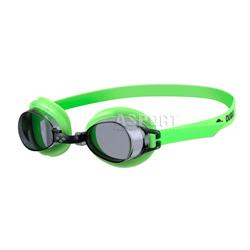 Okulary p�ywackie dzieci�ce BUBBLE 3 zielone/ciemna szybka Arena