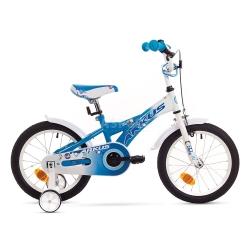 """Rower dzieci�cy, dziewcz�cy, stalowa rama, rozmiar 9"""" TOLA 16 Y niebieski Arkus"""